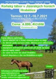 Koňský tábor, 2. termín (KAPACITA NAPLNĚNA)